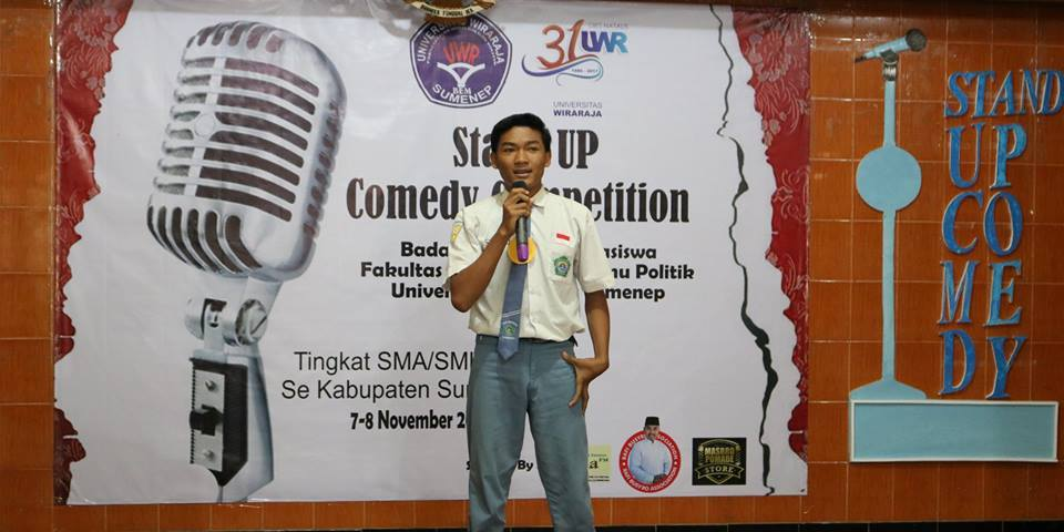 MENGHIBUR, STAND UP COMEDY COMPETITION WIRARAJA